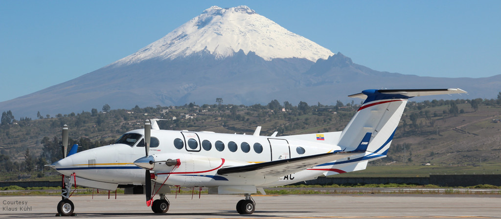 Flight Inspection Aircraft of type King Air 350 for DGAC in Ecuador