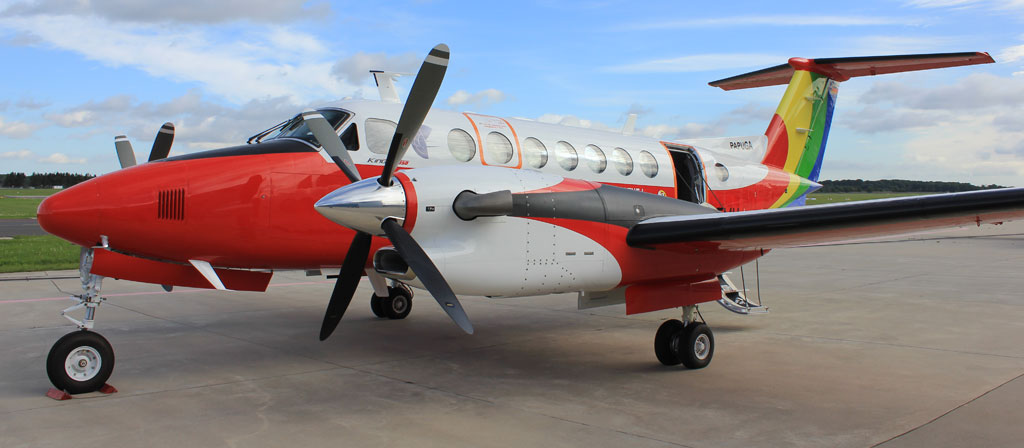 Flight Inspection Aircraft of type King Air 350 for PANSA in Poland