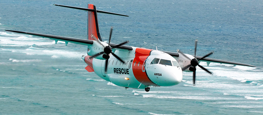 Surveillance Aircraft of type Dornier 328 for AeroRescue, Australia